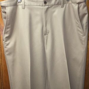 Haggar Men's Tan Premium Stretch Pants